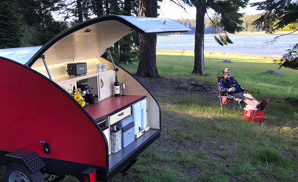 Teardrop Camper DIY HERO