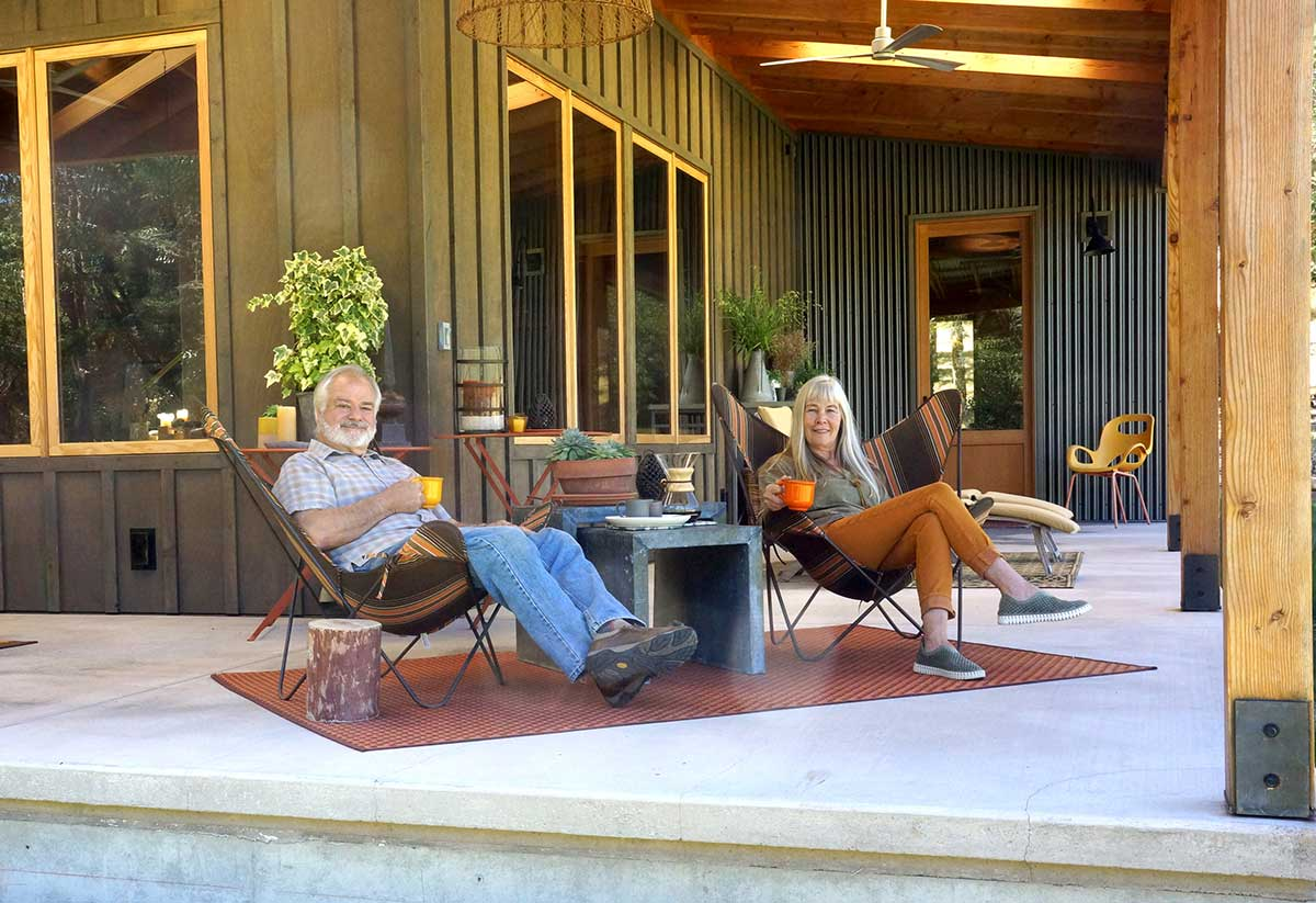 Asher Homes Hoffmans on Porch